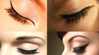 Kolay Eyeliner Çekme Teknikleri Resimli