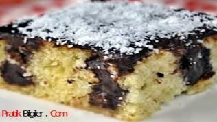 Çikolata Soslu Poke Kek