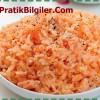 Domatesli Pirinç Pilavı Tarifi