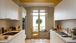 Evde dar alanlar nasıl değerlendirilir raflardan faydalanın!