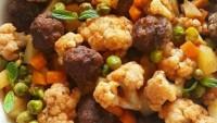 Fırında köfteli karnabahar tarifi baş döndüren lezzet!