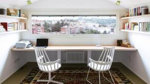Küçük evlerde çalışma odası nasıl dekore edilir?