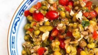 Maş fasülye salatası nasıl yapılır doyurucu ve lezzetli!