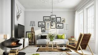Duvar dekorasyonu çeşitleri neler salonunuzu renklerle canlandırın!
