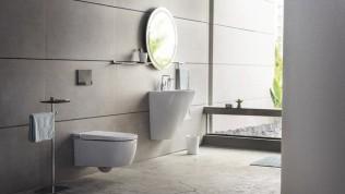 El sürmeden banyo ve tuvalet temizliği mümkün