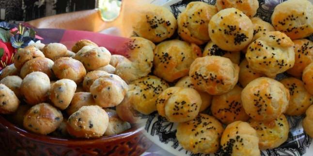 En kolay bitli kurabiye nasıl yapılır? Çörek otlu kurabiye tarifi