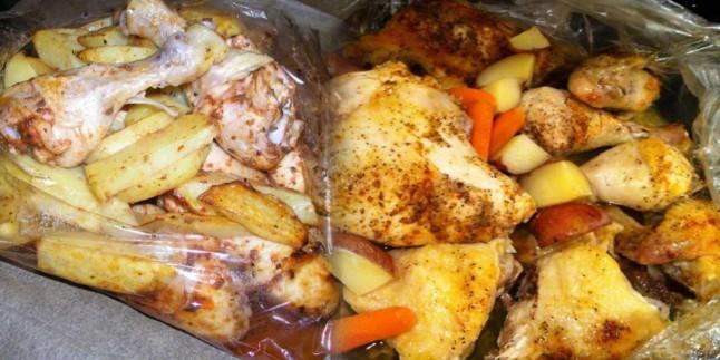 Fırın poşetinde tavuk nasıl yapılır? Fırın poşeti nasıl kullanılır?