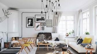 İskandinav stili ev dekorasyonu fikirleri
