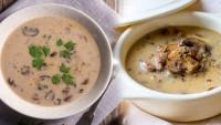 Krema kullanmadan sütlü mantar çorbası nasıl yapılır?