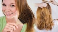 Saç en kolay nasıl taranır? Koparmadan saç taramanın püf noktası