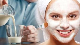 Sütün cilde faydaları nelerdir? Her gece yüzünüze süt sürerseniz…