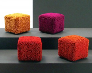 renkli puf modelleri pouf